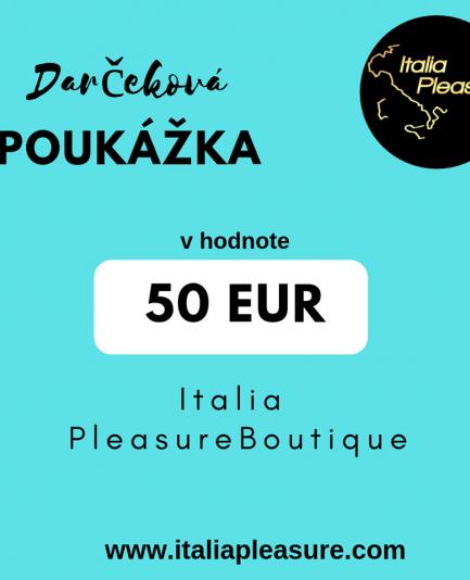 82345ac78 Darčeková poukážka 100€ - Italia Pleasure